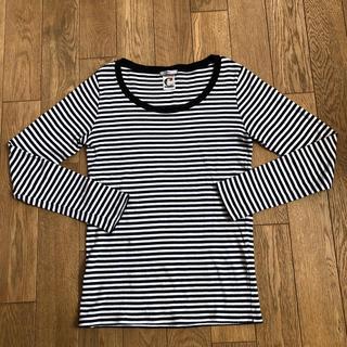 イエナ(IENA)のイエナ   ボーダー カットソー  ロンT(Tシャツ/カットソー(七分/長袖))