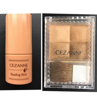 セザンヌケショウヒン(CEZANNE(セザンヌ化粧品))のセザンヌ シェーディング 2点セット(その他)