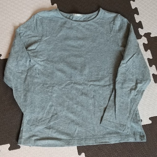 GU(ジーユー)の【GU】キッズ👧カットソー   140cm キッズ/ベビー/マタニティのキッズ服女の子用(90cm~)(Tシャツ/カットソー)の商品写真