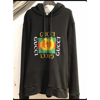 Gucci - GUCCI パーカー ヴィンテージロゴ  3月31日まで限定価格