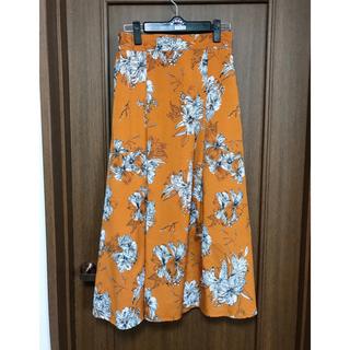 ドゥアルシーヴ 花柄スカート