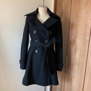 セシルマクビー(CECIL McBEE)のセシルマクビーコート黒(ロングコート)
