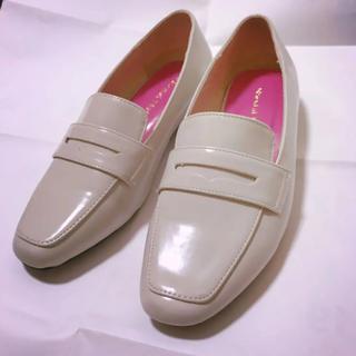 オリエンタルトラフィック(ORiental TRaffic)のオリエンタルトラフィック ホワイト ローファー(ローファー/革靴)
