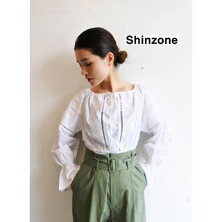 シンゾーン(Shinzone)の【THE Shinzone】クロップドレースブラウス(シャツ/ブラウス(長袖/七分))