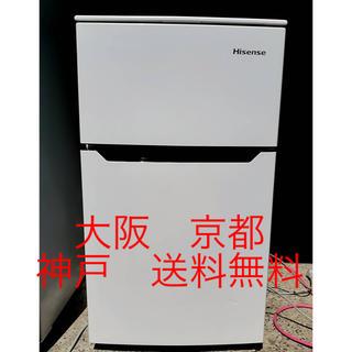 ハイセンス  2ドア冷凍冷蔵庫  HR-B95A  2016年製   93L (冷蔵庫)