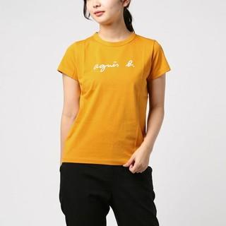 アニエスベー(agnes b.)の美品 agnes b. ロゴTシャツ(Tシャツ(半袖/袖なし))