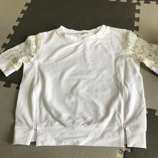 新品 スィートマミー  授乳用レースTシャツ(マタニティトップス)