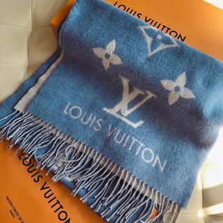LOUIS VUITTON - LV カシミヤ100% マフラー  M75704