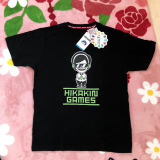 しまむら - ヒカキン ゲームズ Tシャツ ブラック