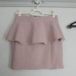 one*way - ペプラムスカート