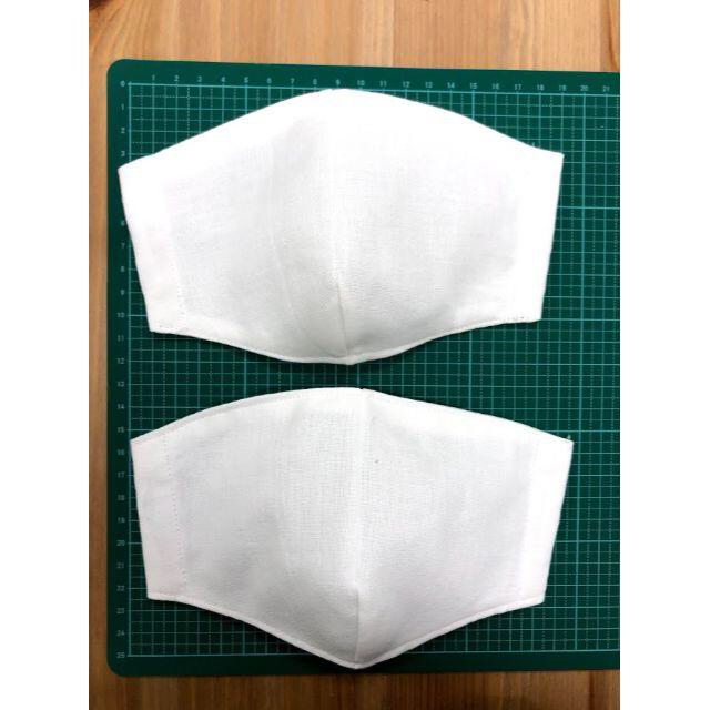 【送料無料】立体 国産さらし 綿100% インナーマスク2枚セットの通販