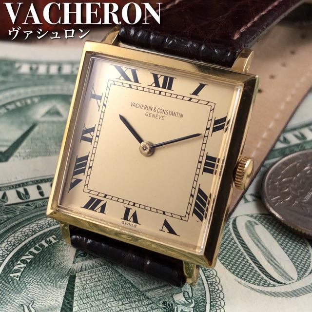 ロレックス コピー 激安市場ブランド館 / VACHERON CONSTANTIN - ★OH済!!18金無垢★ヴァシュロンコンスタンタン/1960's/メンズ腕時計の通販