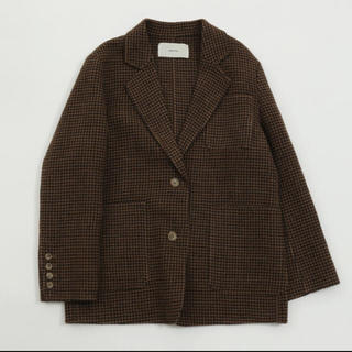 TODAYFUL - TODAYFUL𓇼Wool Check Jacket