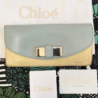 クロエ(Chloe)のクロエ リボン 長財布(財布)