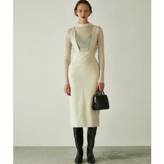 moussy - moussy HIGH WAIST SUSPENDER スカート