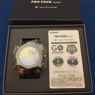 新品未使用 カシオ PROTREK Smart [WSD-F30-RG](腕時計(デジタル))