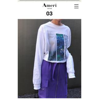 アメリヴィンテージ(Ameri VINTAGE)のAmeri WIND AND SEA COLLAB PHOTO LS TEE(Tシャツ(長袖/七分))