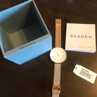 SKAGEN - 【美品】SKAGEN 腕時計 レディース