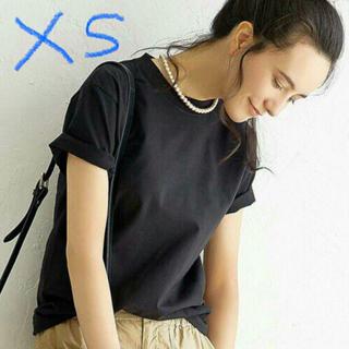 ヘインズ(Hanes)の新品 HANES ビーフィーTシャツ BEEFY ヘインズ xs ブラック(Tシャツ(半袖/袖なし))