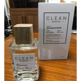 クリーン(CLEAN)の美品✨クリーン リザーブ レイン オードパルファム100m✨(ユニセックス)