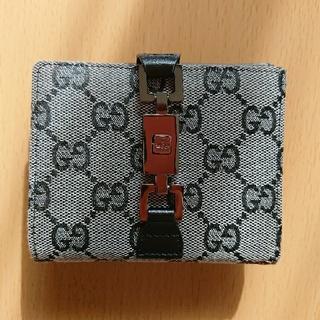 グッチ(Gucci)のGUCCI 2つ折り財布(財布)
