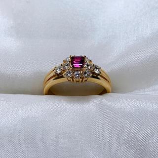 ポーラ(POLA)の☆セール POLA ルビー ダイヤ ファッションリング(リング(指輪))