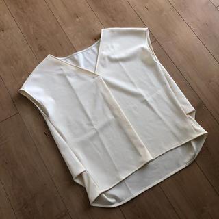 プラステ(PLST)のPLSTプラステ୨୧2wayポリエステルストレッチ半袖ブラウス(シャツ/ブラウス(半袖/袖なし))