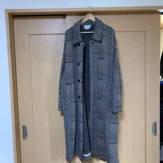 ワンエルディーケーセレクト(1LDK SELECT)のyoke  gunclub Check coat(ステンカラーコート)