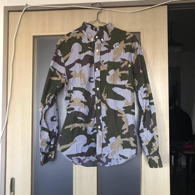 Ron Herman(ロンハーマン)のハバノス 迷彩ストライプシャツ メンズのトップス(シャツ)の商品写真