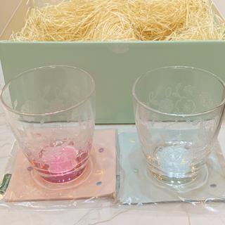 AfternoonTea - アフタヌーンティー♡グラス&コースターのセット