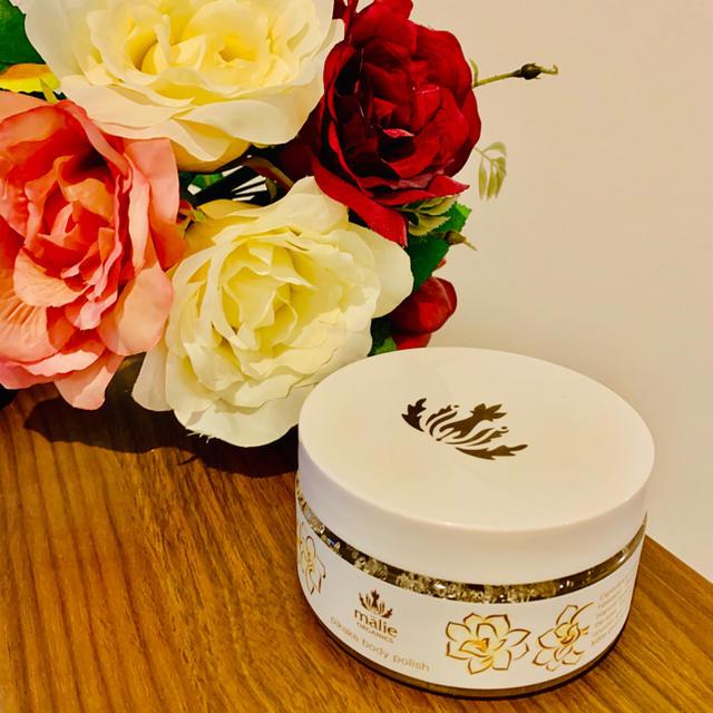 Malie Organics(マリエオーガニクス)のmalie organics pikake body polish コスメ/美容のボディケア(ボディローション/ミルク)の商品写真