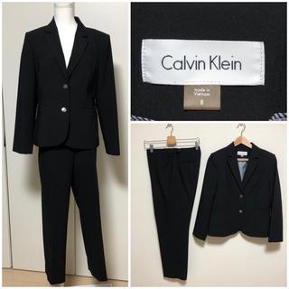 カルバンクライン(Calvin Klein)のカルバンクライン 大きいサイズ レディース スーツ 美品 セットアップ (スーツ)