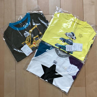 ベルメゾン - ☆新品未使用 ベルメゾン 100cm 男の子用 Tシャツ 3枚セット☆