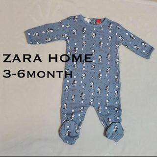 ザラホーム(ZARA HOME)のZARA HOME スヌーピーロンパース(ロンパース)