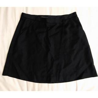セオリー(theory)の 新品未使用 セオリー シンプル ブラック ミニスカート(ミニスカート)