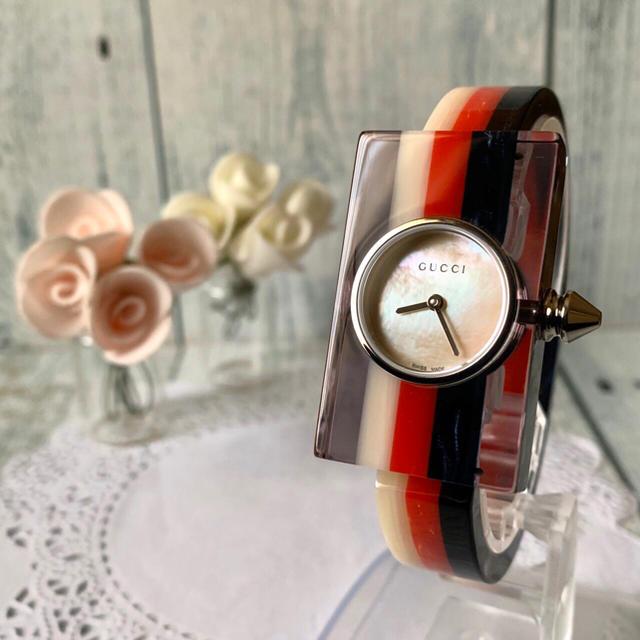 流行腕時計レディース偽物,Gucci-【未使用品】GUCCIグッチ腕時計143.5ヴィンテージウェブの通販