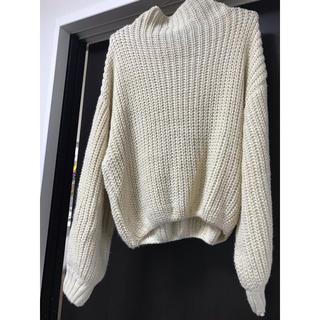 ページボーイ(PAGEBOY)のざっくり編み春ニット (ニット/セーター)