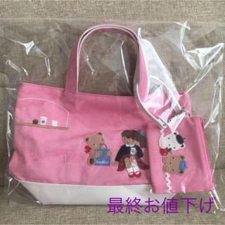 familiar - 新品未使用 familiar カスタマイズ デニムバッグ 神戸本店限定