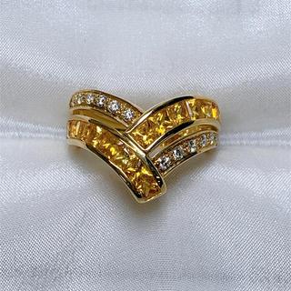 ポーラ(POLA)の☆セール POLA k18  サファイア ダイヤモンド リング(リング(指輪))