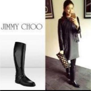 ジミーチュウ(JIMMY CHOO)のJIMMY CHOO レインブーツ 長靴 サイズ36(レインブーツ/長靴)