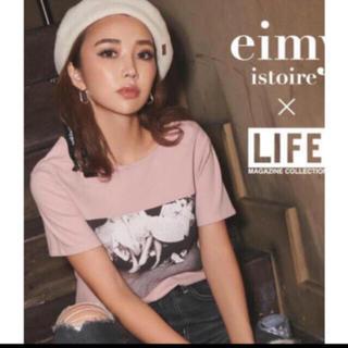 エイミーイストワール(eimy istoire)の❤️【送料込】白、eimy×LIFEコラボT shirts(Tシャツ(半袖/袖なし))