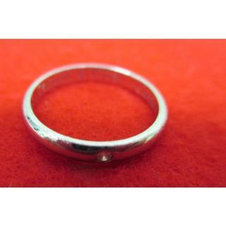 カルティエ(Cartier)のカルティエ ダイヤモンド 指輪 リング pt950中古品(リング(指輪))