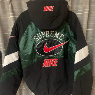Supreme - Supreme NIKE jacket green L 緑 グリーン ジャケット