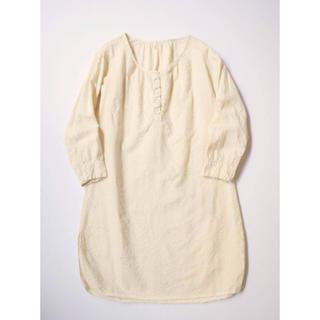 ネストローブ(nest Robe)のTOUJOURS ヘンリープルオーバー クリーム 最終値下げ(シャツ/ブラウス(長袖/七分))