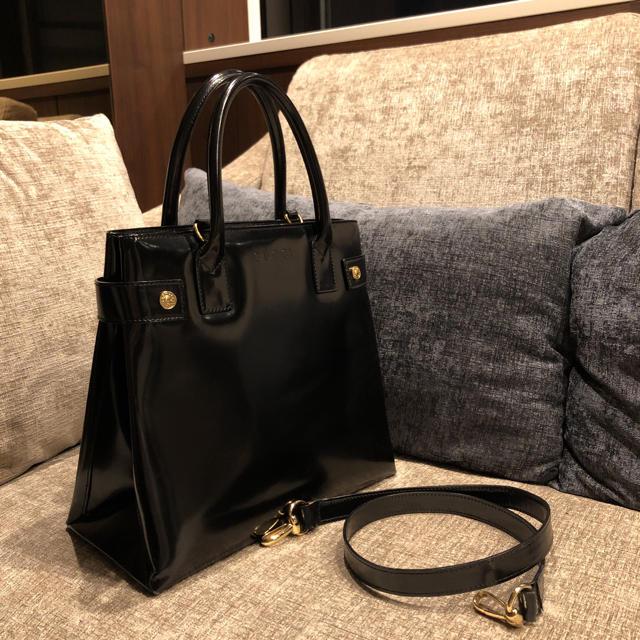 Gucci - 【難あり】グッチ バッグ ショルダー 皮 エナメル ヴィンテージの通販