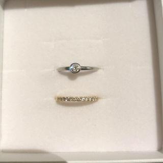 JEWELRY TSUTSUMI - K18  ダイヤモンドエタニティ&プラチナダイヤリング