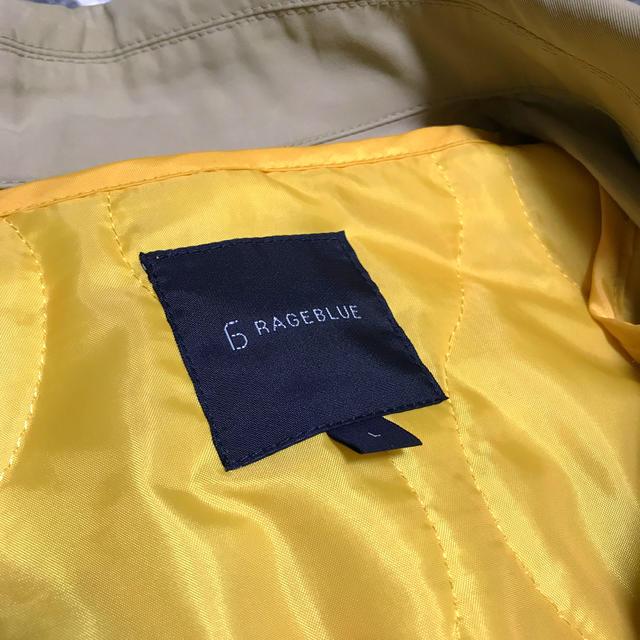 RAGEBLUE(レイジブルー)のRAGEBLUE ステンカラー スプリング コート ライナー付 レイジブルー メンズのジャケット/アウター(ステンカラーコート)の商品写真