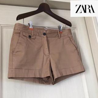 ZARA - ZARA  ショートパンツ  ベージュ