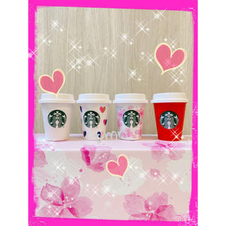 スターバックスコーヒー(Starbucks Coffee)の残りわずか❗️スターバックス☆ミニカップ小物入れ☆4個セット(小物入れ)