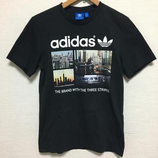 アディダス(adidas)のアディダスオリジナルス Tシャツ 黒 adidas originals 美品(Tシャツ(半袖/袖なし))